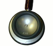 engraved stethoscope