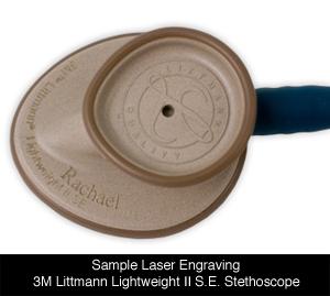 laser engraved littmann lightweight