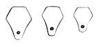 PM-878 Miltex Gruber Nasal Tip Sizers