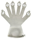 PM-961 Miltex Hand Fixation Device SS