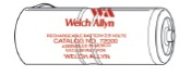 72000 Welch Allyn 2.5V Rechargeable Battery-Red