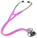 128-HPK Prestige Clinical Cardiology Stethoscope Hot Pink