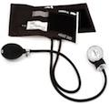 70-BLK Basic Adult Aneroid Sphygmomanometer