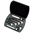 69696-LED Welch Allyn F/O LARYNGOSCOPE SET-MAC W/LED