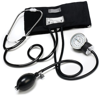 81-OB Traditional Home Blood Pressure Set Large Adult