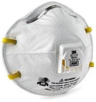 3M™ Particulate Respirator 8210V-10, N95 10 EA/Box
