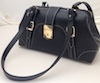 PSHC90G-CLR Doc Purse Black Alligator