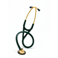 2183 3M Littmann Master Cardiology Stethoscope Brass/Hunter Green