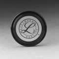 36554 3M Littmann Tunable Diaphragm and Rim Assembly Black Rim for Master Cardiology