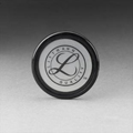 36572 3M Littmann Tunable Diaphragm and Rim Assembly Black Rim