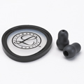 40019 3M™ Littmann® Stethoscope Spare Parts Kit, Cardiology S.T.C, Black