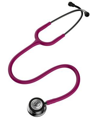 5862 3M™ Littmann® Classic III™ Stethoscope Mirror Raspberry