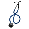 5867 3M™ Littmann® Classic III™ Stethoscope Black-Finish Chestpiece Navy Blue Tube