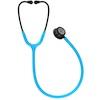 5872 3M™ Littmann® Classic III™ Stethoscope Smoke Chestpiece Turquoise Tube Pink Stem