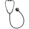 5873 3M™ Littmann® Classic III™ Stethoscope Smoke Chestpiece Gray Tube Violet Gray Stem