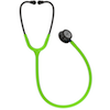 5875 3M™ Littmann® Classic III™ Stethoscope Smoke Chestpiece Lime Green Tube Blue Stem