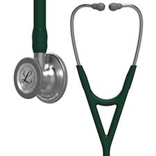 6155 3M Littmann Cardiology IV Diagnostic  Stethoscope Hunter Green