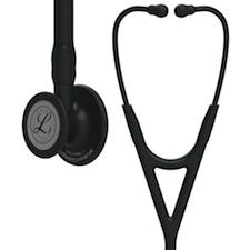 6163 3M Littmann Cardiology IV Diagnostic  Stethoscope Black Finish