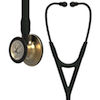6164 3M Littmann Cardiology IV Diagnostic  Stethoscope Brass Black