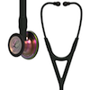 6165 3M Littmann Cardiology IV Diagnostic  Stethoscope Rainbow Black