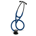 6168 3M Littmann Cardiology IV Stethoscope Black/Navy Blue