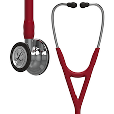 6170 3M™ Littmann® Cardiology IV™ Diagnostic  Stethoscope Mirror Finish Burgundy
