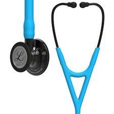 6171 3M Littmann Cardiology IV Diagnostic Stethoscope Smoke/Turquoise