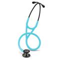 6171 3M Littmann Cardiology IV Stethoscope Smoke/Turquoise