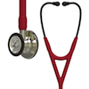 6176 3M™ Littmann® Cardiology IV™ Diagnostic  Stethoscope Champagne Finish Burgundy Smoke