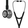 6177 3M™ Littmann® Cardiology IV™ Diagnostic  Stethoscope Mirror Finish Black
