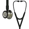 6179 3M™ Littmann® Cardiology IV™ Diagnostic  Stethoscope Champagne Finish Black Smoke