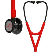 6182 3M™ Littmann® Cardiology IV™ Diagnostic Stethoscope Limited Edition Red