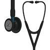 6201 3M Littmann Cardiology IV Diagnostic Stethoscope Black Blue Stem
