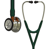 6206 3M™ Littmann® Cardiology IV™ Diagnostic Stethoscope Champagne Hunter Green Orange