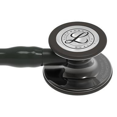 6232 3M Littmann Cardiology IV Diagnostic Stethoscope High Polish Smoke Black