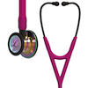 6241 3M™ Littmann® Cardiology IV™ Diagnostic Stethoscope High Polish Rainbow Raspberry