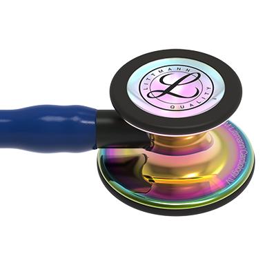 6242 3M Littmann Cardiology IV Diagnostic Stethoscope High Polish Rainbow Navy