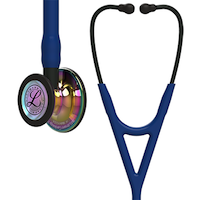 6242 3M™ Littmann® Cardiology IV™ Diagnostic Stethoscope High Polish Rainbow Navy