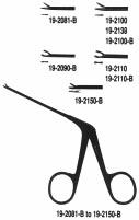 19-2110 Miltex Micro Ear Forceps 3-1/4 Oval