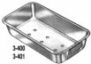 3-400 Miltex Flash Autoclave Pan W/Hdl