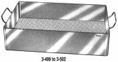 3-500 Miltex Instr Tray 10X10.5X3-1/2