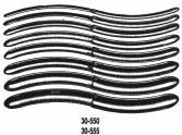 30-550 Miltex Hegar Dilators De 8/St
