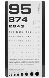 1242 Pocket Eye Chart - Rosenbaum