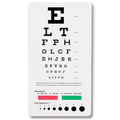 1243 Pocket Eye Chart - Snellen