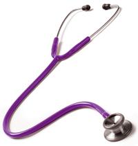 126-PUR Clinical I Stethoscope Purple