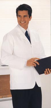 175 Unisex Consultation Jacket White