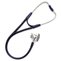 5079-327 Welch Allyn Harvey DLX Double Head Stethoscope Navy