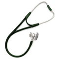 5079-328 Welch Allyn Harvey DLX Double Head Stethoscope Forest Green