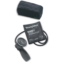 5098-27CB Welch Allyn DS66 Trigger Aneroid with Two Piece Adult Cuff and Case